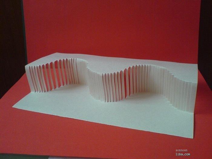 立体构成纸雕图纸相关图片