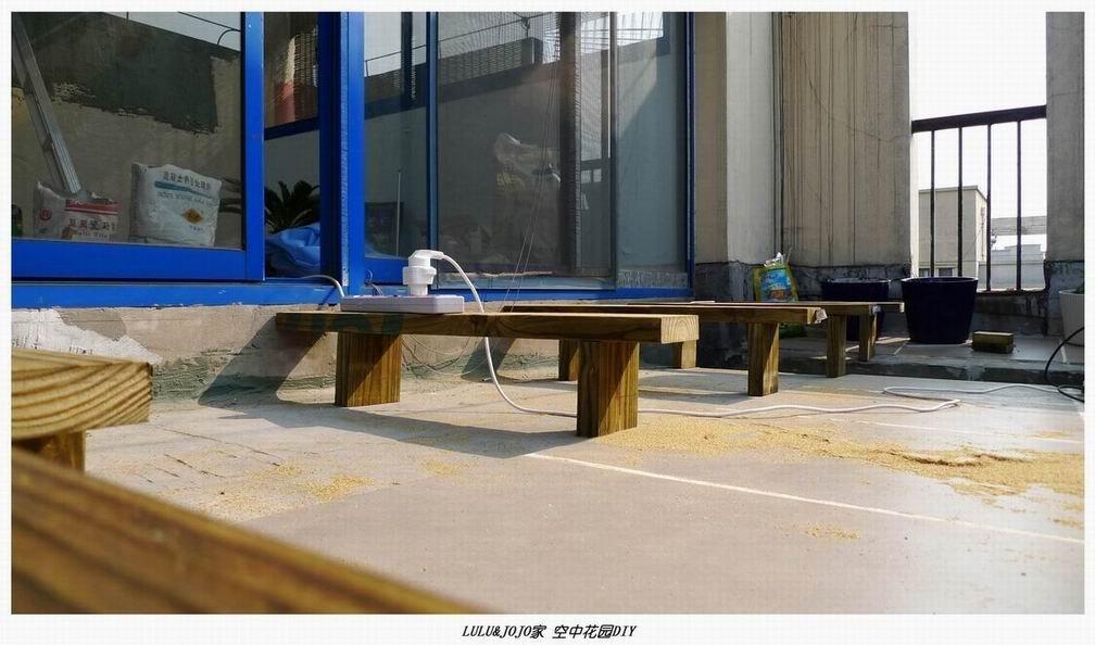 LULU&JOJO空中图纸DIY室外木花园篇P1室skechup效果平台图片