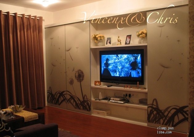 上一张电视背景墙的图片