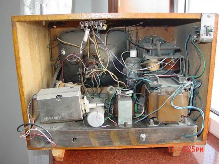 处理的6P1电子管
