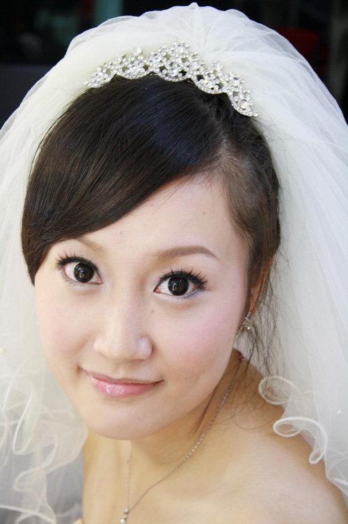 my小辣椒造型馆塑造白雪公主的妆容&熊猫猫爱死joey