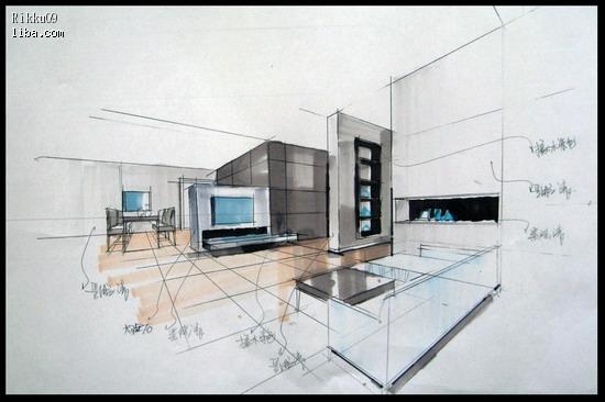 卓帧linwei的手绘图; 【简约风格+linwei设计施工+季
