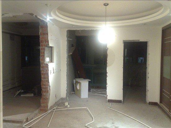 门洞分别式小房间 北阳台(改造为敞开式书房)厨房
