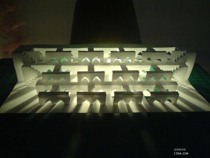 半立体折纸图解;