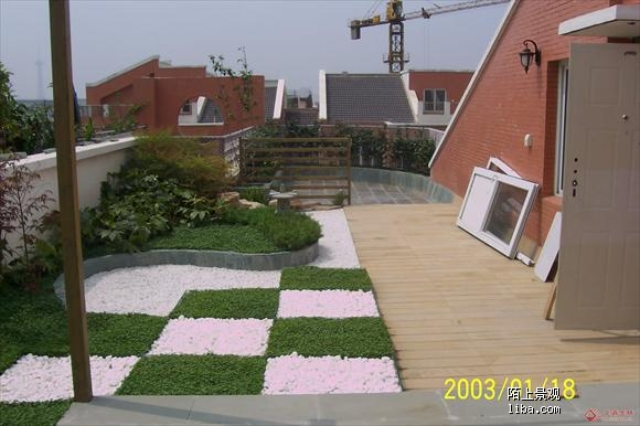 屋顶花园 装修日记 篱笆网 - 年轻家庭 生活社区