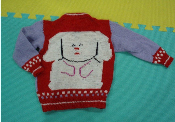 栋宝之衣食住行用品贴 P61外婆织的毛衣们