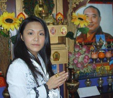 十世班禅大师和他的女儿