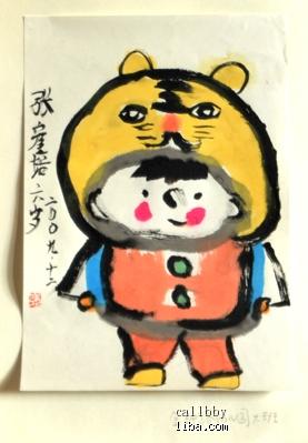 幼儿中班简笔手工创意美术动物画图片