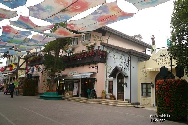 三洲驿街道风景