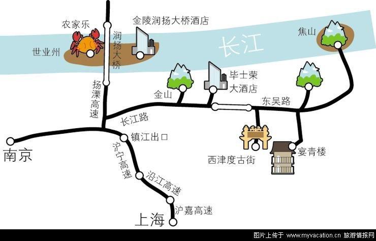 州/镇江攻略地图