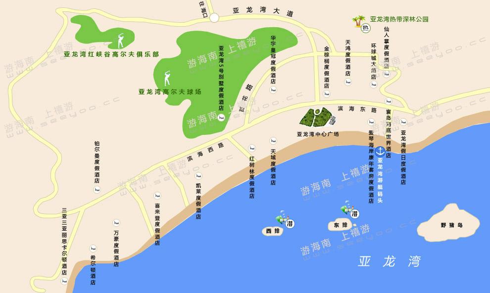 地图全图高清版; 关于三亚pass