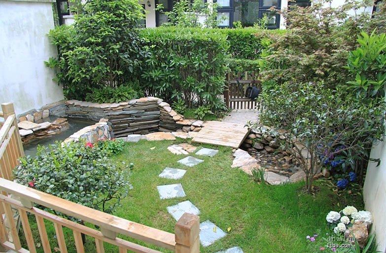 不锈钢门套施工图_家庭庭院鱼池设计图