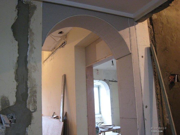 欧式阳台造型门洞