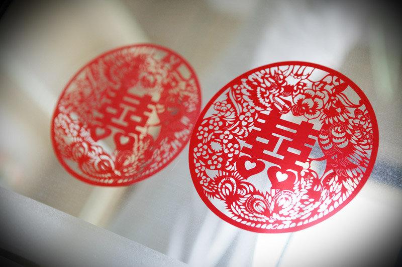 新中式囍字风格