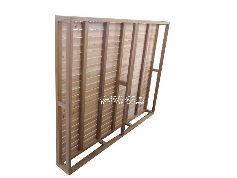 不知道这样的木板床架能不能放到排骨架上面?