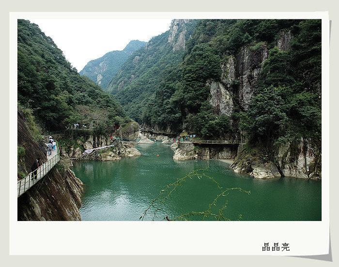 宁波天河生态风景区(宁海)或者白溪水库