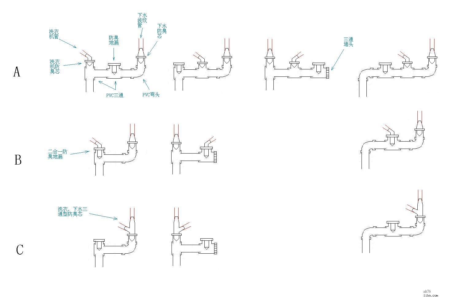 家庭装修水电路图