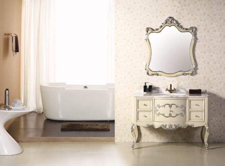 一楼或者三楼的洗手间用这样的欧式柜