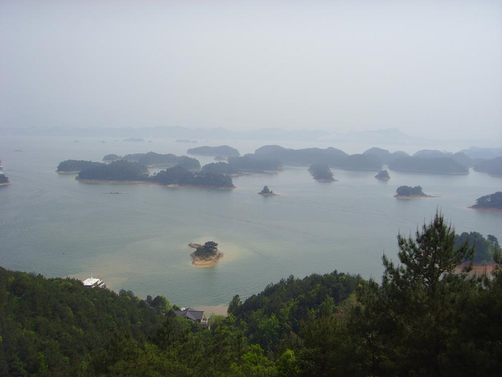 梅峰岛上一览千岛湖好风光