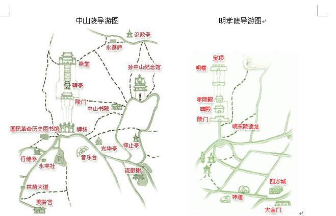 南京一日游最佳路线