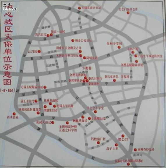 上海 无锡西山地图