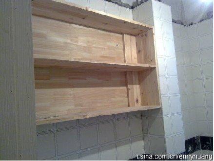 用地板砖砌橱柜步骤图
