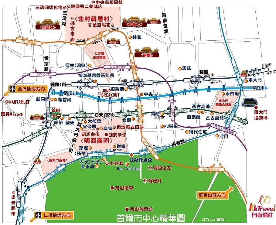 首尔仁川机场地图