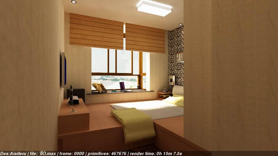 榻榻米卧室4