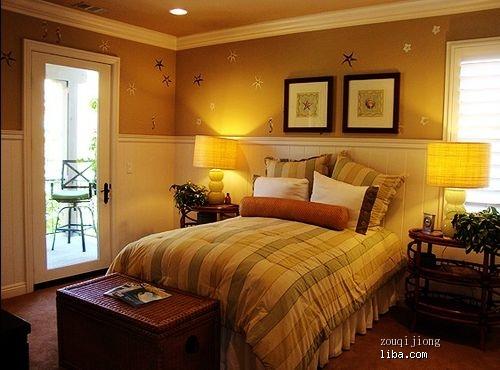 直角窗户卧室装修图片效果图
