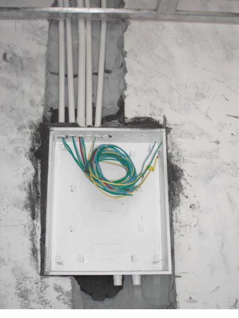别墅的电箱接线图