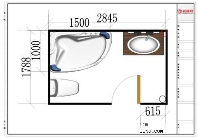 卫生间的设计图家具设计ps排版图片图片
