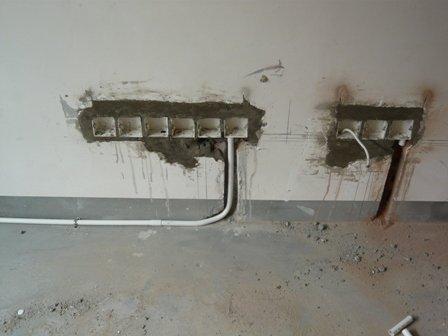 多个插座并排, 大家看看这样一根线连起来