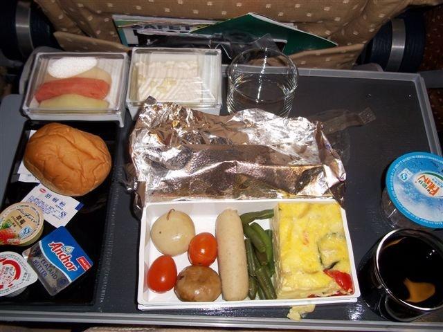 新加坡航空的飞机餐还不错