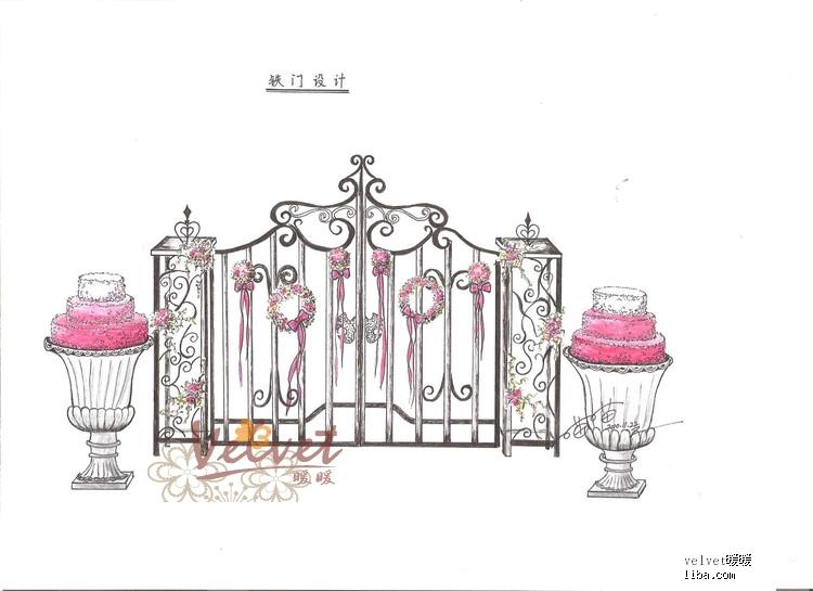 创意台灯设计手绘图分享展示