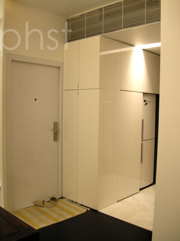 冰箱与鞋柜效果图