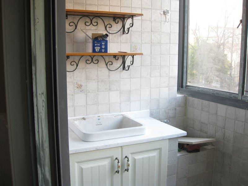 阳台砖砌洗手盆_客厅阳台贴砖效果图_阳台墙面砖 .