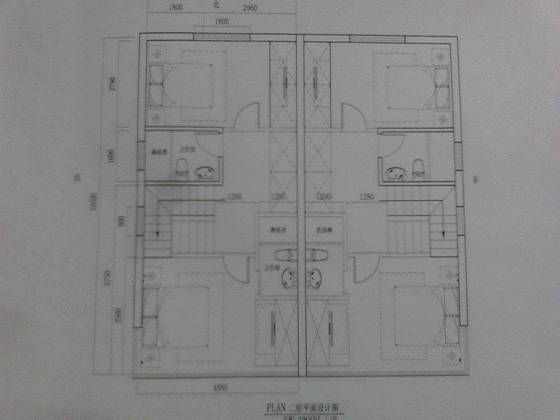 90平方农村建房设计图 农村90二层楼房设计图 农村90平方房屋设计图图片