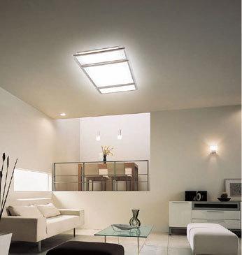 客厅顶上不装灯行伐? 就靠落地灯+吊顶灯带够么?