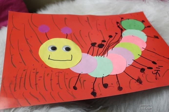 今年2月开始参加创意美术课程