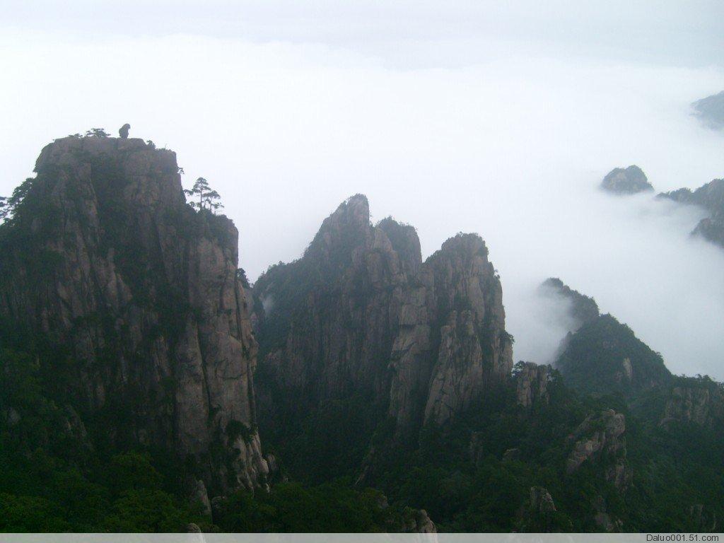 黄山风景区就是游客传统意义上的黄山.