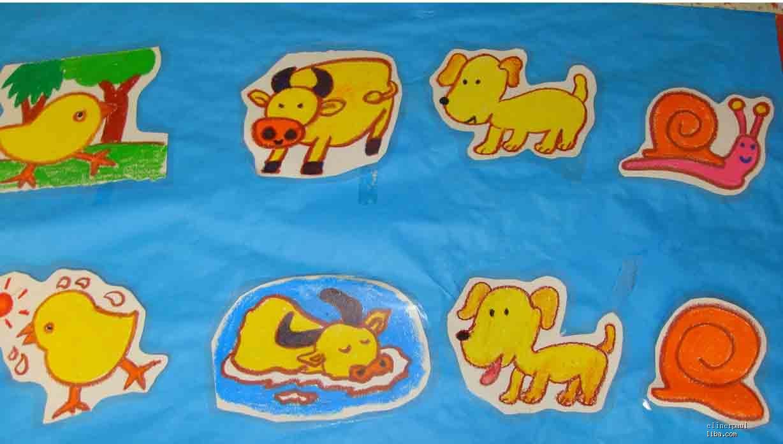 大班儿童绘画作品_学习啦在线学习网