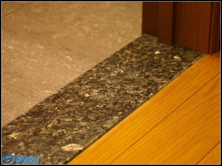 木地板与地砖无缝连接示意图