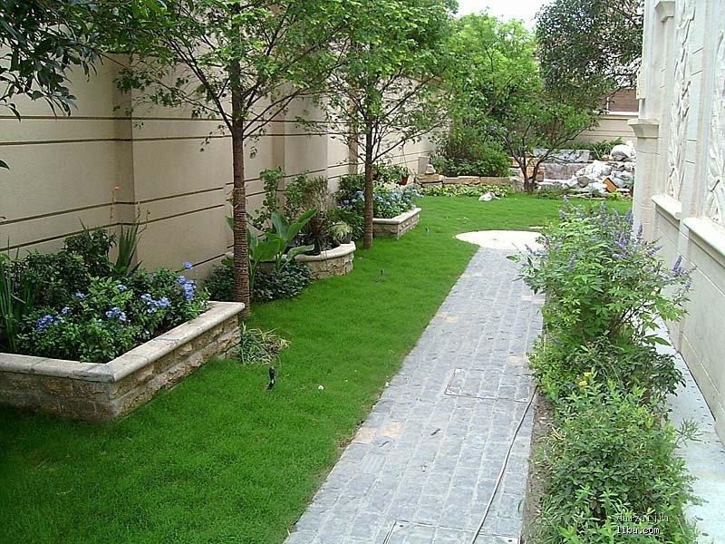 三楼小花园设计实景图