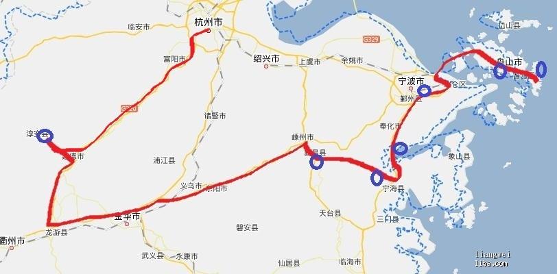 杭州到千岛湖