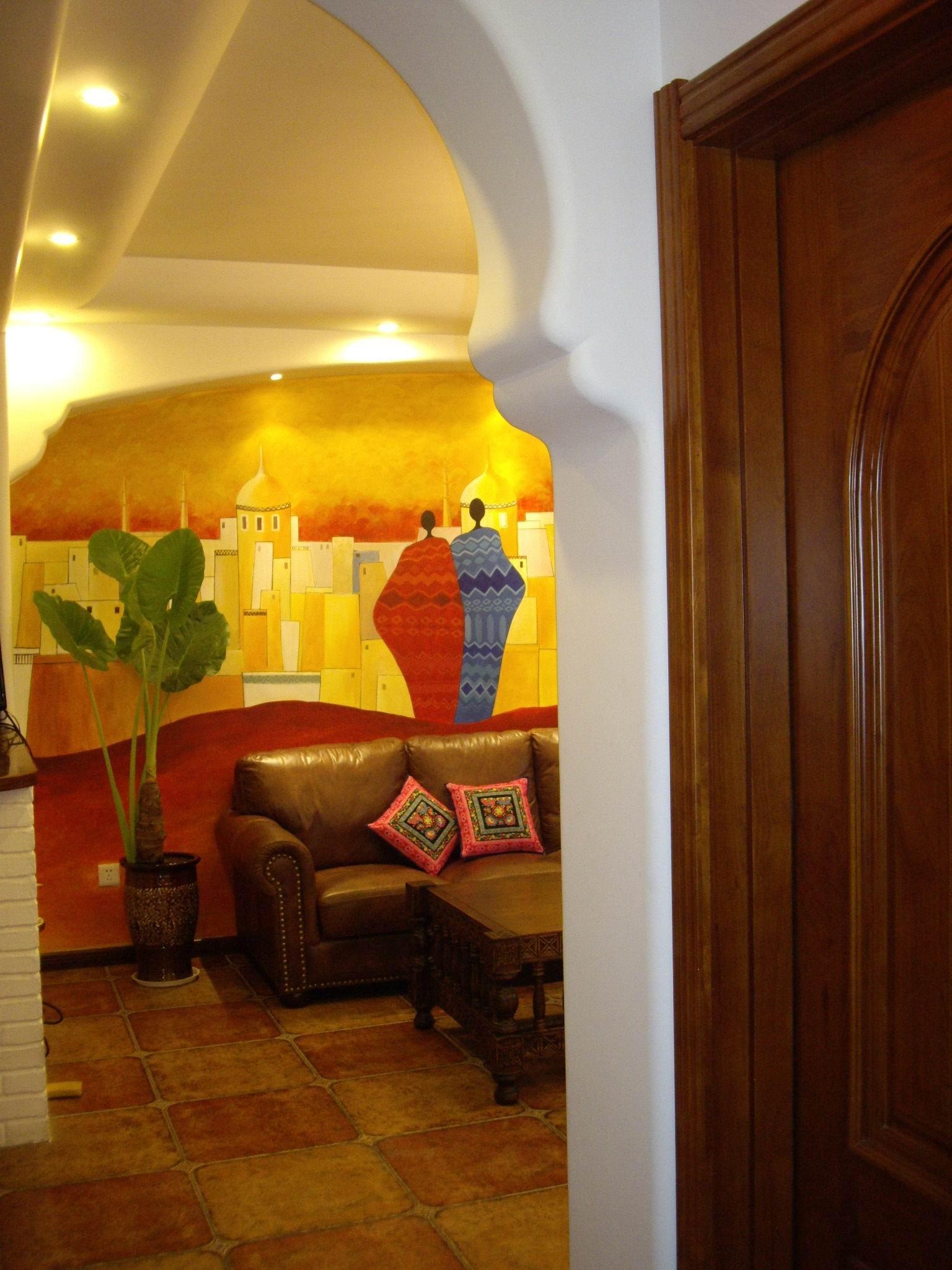 秀秀我家手绘墙