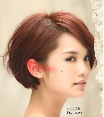 短发的杨丞琳也依旧甜美可爱_发型设计图片