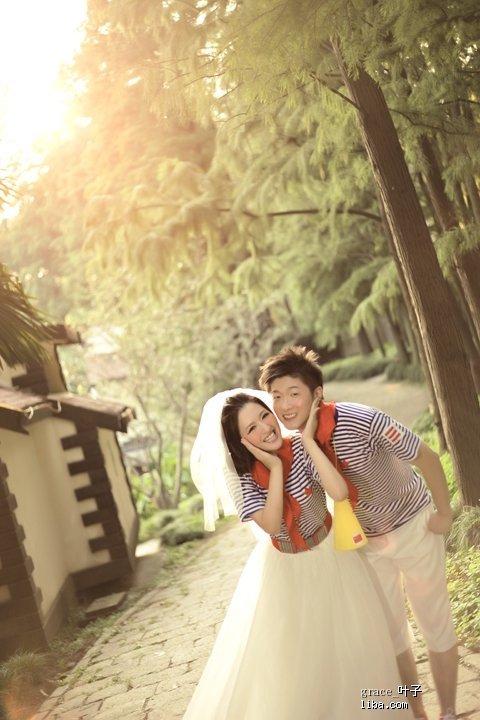 森林公园婚纱情侣照——梦幻,自然,田园,可爱超美,公主feel