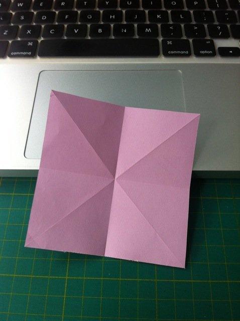 精美的折纸蝴蝶书签折纸图解; 教你折出漂亮的蝴蝶书签,教程+图片版
