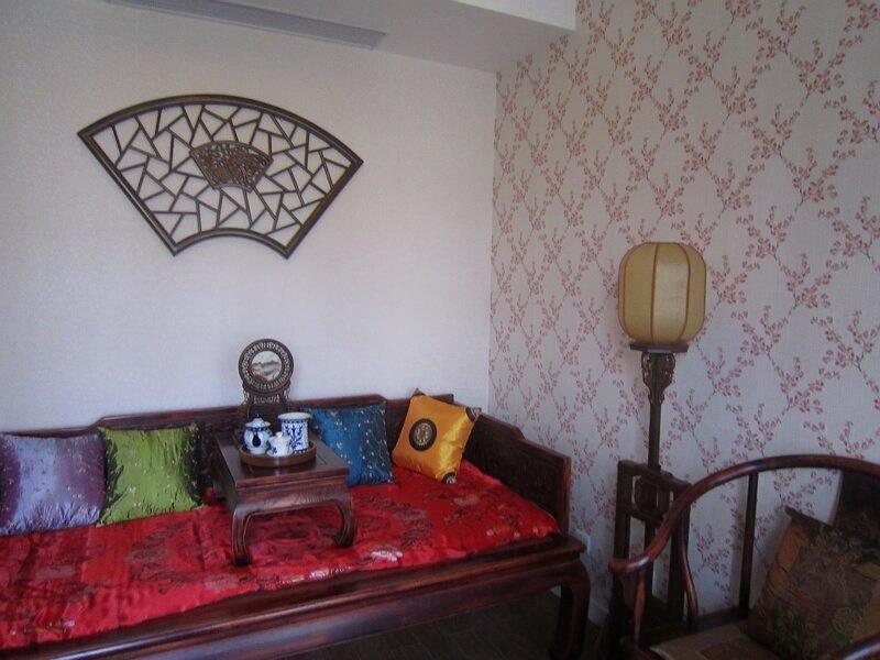 主题:入住两年的小别墅,也来凑凑热闹----美式 中式 田园 日式,混搭得图片