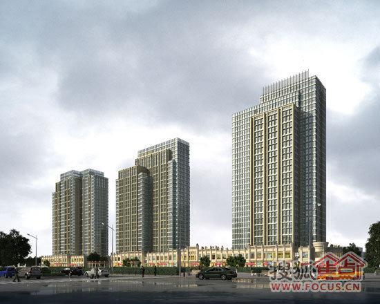 结构采用钢筋混凝土框架-筒体结构及框架结构;